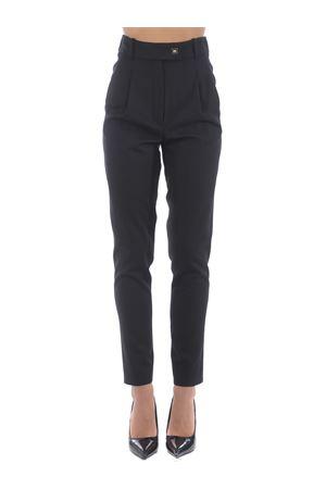 Pinko cefeo trousers in wool gabardine. PINKO | 9 | 1B14NJ-6116Z99