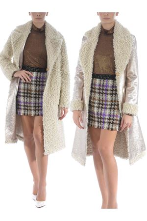 Pinko reversible faux-shearling coat.  PINKO | 17 | 1B14NP-Y6J7HZC
