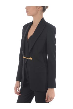 Pinko Black tailored blazer with chain detail. PINKO | 3 | 1B14UY-6116Z99