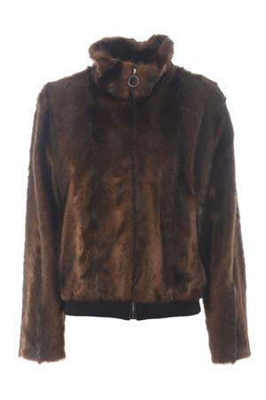 Pinko Manuele bomber jacket in imitation mink PINKO | 13 | 1G1555-Y6C4L30