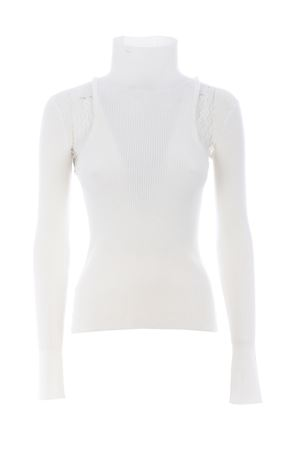 Pinko Islanda sweater in stretch viscose PINKO | 7 | 1G156G-Y6F9Z08