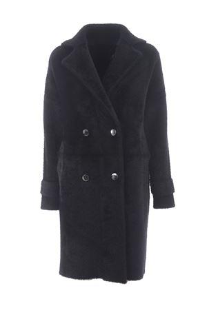 Pinko Birmania coat in faux fur PINKO   17   1G157Z-Y6CGZ99