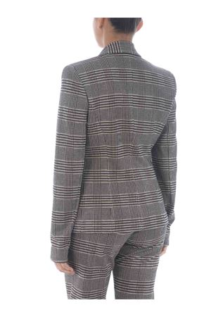 Pinko Gomberto blazer in viscose blend worked with fabric stitch. PINKO | 3 | 1G15HZ-8184ZC8