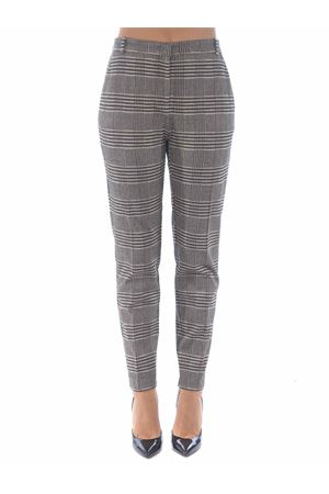 Pinko Bello 94 trousers in stretch fabric stitch. PINKO | 9 | 1G15KN-8184ZC8