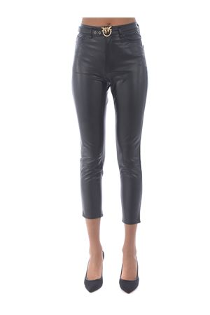Pinko Susan trousers in faux leather PINKO | 9 | 1G15KT-Y6GQZ99