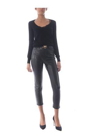 Pantalone Pinko Susan in ecopelle PINKO | 9 | 1G15KT-Y6GQZ99