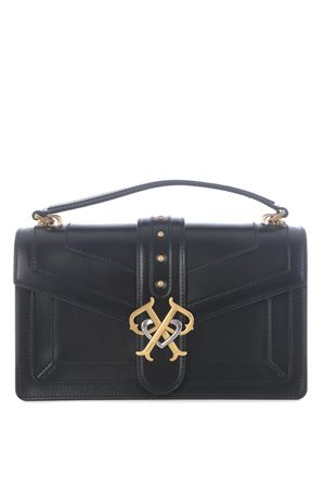 Pinko Double P bag in brushed leather. PINKO | 31 | 1P21SB-Y6JDZ99