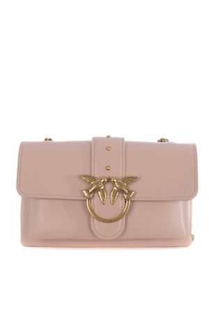 Pinko Love Mini leather clutch. PINKO | 31 | 1P21SK-Y6JCQ19