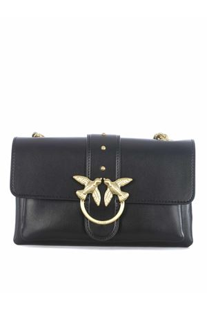 Pinko Love Mini leather clutch. PINKO | 31 | 1P21SK-Y6JCZ99