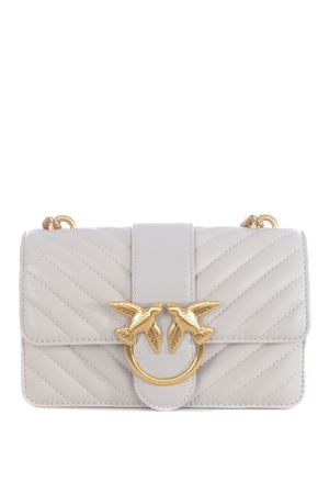 Pinko Love Mini Icon shoulder bag in calfskin PINKO | 31 | 1P21TL-Y6KTI21