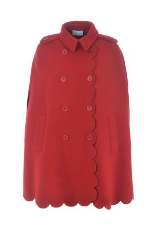 Red Valentino cape in wool and cashmere blend RED VALENTINO | 52 | UR3CG02057J38Z