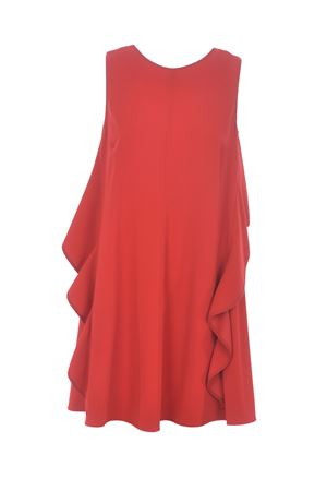 Red Valentino dress in stretch cady