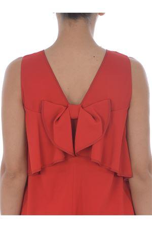 Red Valentino dress in stretch cady RED VALENTINO | 11 | UR3VAR253SM38Z