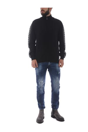Richmond Blast wool cardigan RICHMOND | 850887746 | RMA20038CDBLACK