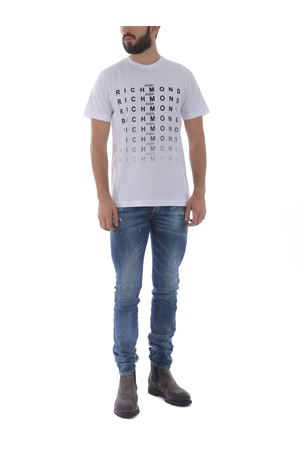 T-shirt Richmond Genna in cotone RICHMOND | 8 | RMA20077TSWHITE