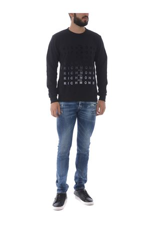 Richmond Gavasa cotton sweatshirt RICHMOND | 10000005 | RMA20085FEBLACK