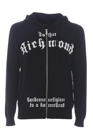 Cardigan Richmond Gyala in misto lana merino RICHMOND | 850887746 | RMA20140CDBLACK