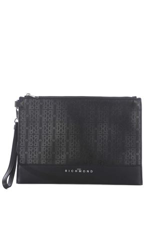 Pochette Richmond Cassorso in ecopelle RICHMOND | 62 | RMA20326BOBLACK