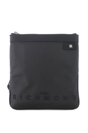 Richmond Dedvin shoulder strap in eco-leather RICHMOND | 31 | RMA20331BOBLACK