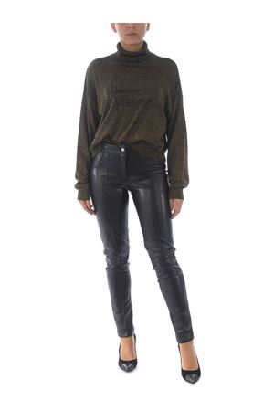 Richmond Hafez turtleneck in viscose blend and metal thread RICHMOND | 7 | RWA20112LUBLACK