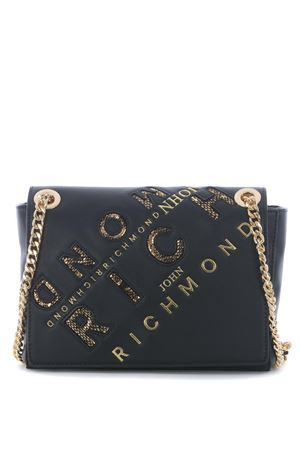 Richmond Cistella bag in eco-leather RICHMOND | 31 | RWA20403BOBLACK/GOLD