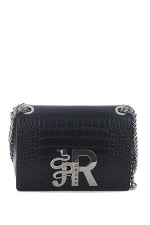 Richmond Castria Bis bag in crocodile print eco-leather RICHMOND | 31 | RWA20415-BBLACK COCCO