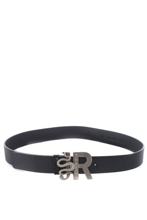 Richmond Bialy leather belt RICHMOND | 22 | RWA20513CIBLACK