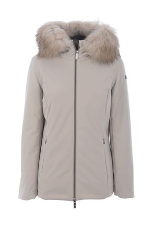 RRD winter storm lady fur down jacket in stretch technical fabric RRD | 783955909 | W20500FT83
