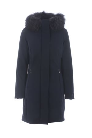 RRD winter long lady fur jacket in stretch technical fabric RRD | 18 | W20501FT60