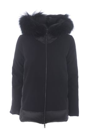 RRD winter hybrid zar lady fur down jacket in technical fabric and nylon RRD | 783955909 | W20513FT10