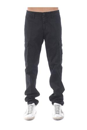 Stone Island trousers in stretch cotton. STONE ISLAND | 9 | 318L1V0129
