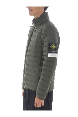 Stone Island loom woven down chambers stretch nylon-tc down jacket in stretch quilted nylon STONE ISLAND | 783955909 | 41025V0059