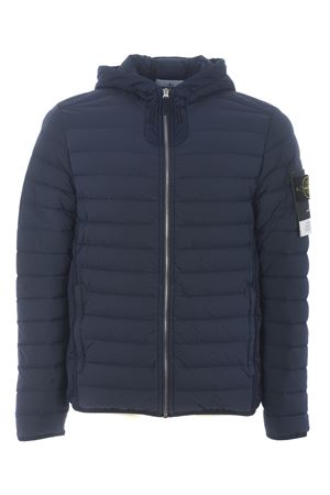 Stone Island loom woven down chambers stretch nylon-tc down jacket in stretch quilted nylon STONE ISLAND | 783955909 | 41125V0020