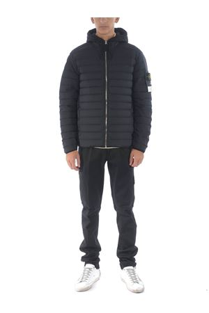 Stone Island loom woven down chambers stretch nylon-tc down jacket in stretch quilted nylon STONE ISLAND | 783955909 | 41125V0029
