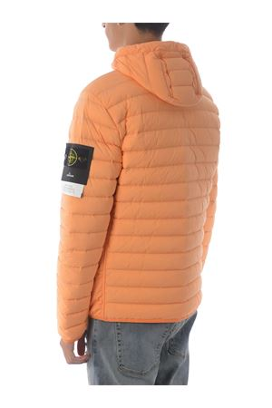Stone Island Loom woven down chambers stretch nylon t-c down jacket in stretch quilted nylon STONE ISLAND | 783955909 | 41125V0032