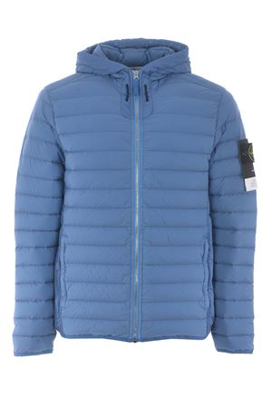 Stone Island Loom woven down chambers stretch nylon t-c down jacket in stretch quilted nylon STONE ISLAND | 783955909 | 41125V0043