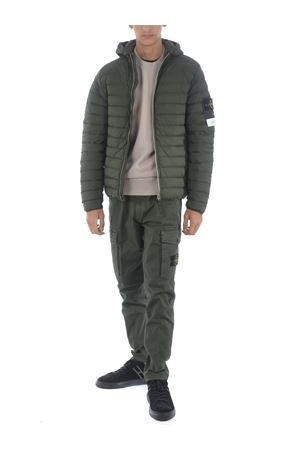 Stone Island loom woven down chambers stretch nylon-tc down jacket in stretch quilted nylon STONE ISLAND | 783955909 | 41125V0059