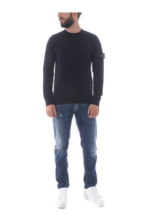Stone Island sweater in stretch wool yarn STONE ISLAND | 7 | 511A1V0020