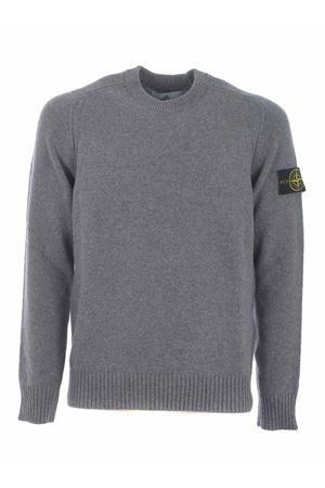 Stone Island sweater in wool blend. STONE ISLAND | 7 | 552A3V0060