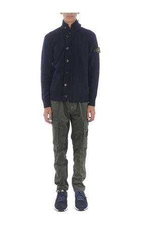 Stone Island cardigan in wool blend STONE ISLAND | 850887746 | 564A3V0020