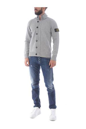 Stone Island cardigan in wool blend STONE ISLAND | 850887746 | 564A3V0061