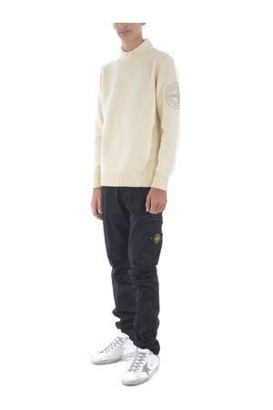Stone Island sweater in wool blend. STONE ISLAND | 7 | 592C7V0035