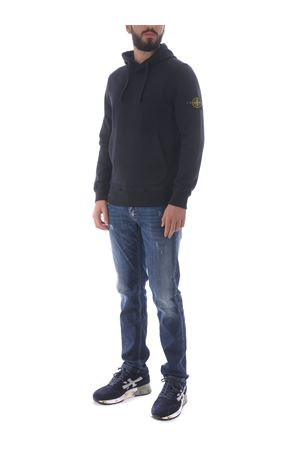 Stone Island sweatshirt in cotton. STONE ISLAND | 10000005 | 64120V0020