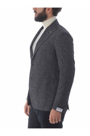 Tagliatore jacket in wool, cotton and linen blend TAGLIATORE | 3 | 1SMC26K12UIZ271-N1463