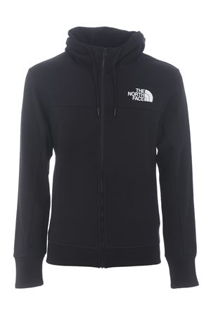 The North Face Himalayan Full Zip Hoodie in cotton. THE NORTH FACE | 10000005 | NF0A4SWMJK31