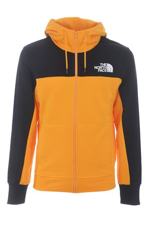 Felpa The North Face  Himalayan Full Zip Hoodie in cotone. THE NORTH FACE | 10000005 | NF0A4SWMZU31