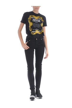 Versace Jeans Couture ametist trousers in stretch denim VERSACE JEANS | 9 | A1HZA0K460366-899