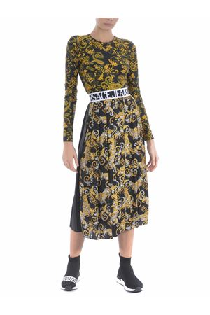 Versace Jeans Couture longuette skirt in pleated satin VERSACE JEANS | 15 | A9HZA303S0835-899