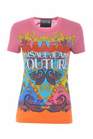 Versace Jeans Couture cotton T-shirt VERSACE JEANS | 8 | B2HZA7PH30392-445