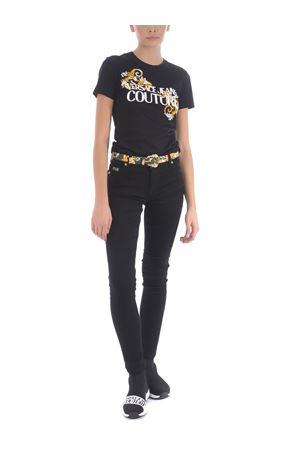 T-shirt Versace Jeans Couture in cotone VERSACE JEANS | 8 | B2HZA7TB30319-899